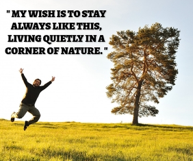 WISH AND NATURE QUOTE TEMPATE 巨型广告 template