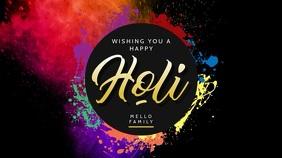 Wishing a Happy Holi Video
