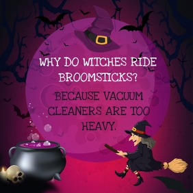 Witches Joke Halloween