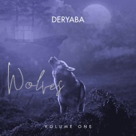 Wolf Wolves Mixtape Video Album CD Cover Kvadrat (1:1) template