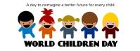 Wolrd Children's day,event Фотография обложки профиля Facebook template