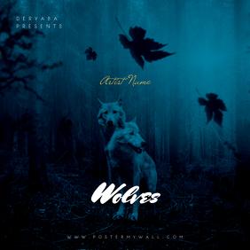 Wolves CD Cover Art Template