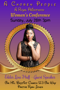 Woman's Conference Flyer