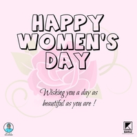 Woman's Day Iphosti le-Instagram template