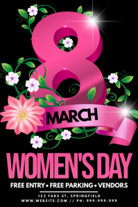 Woman's Day Poster
