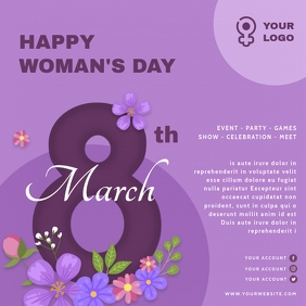 Woman's Day Square Flyer