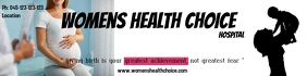 woman care/hospital banner