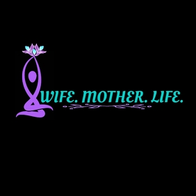 Woman Sillouhette Logo template