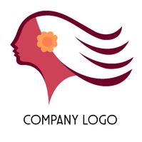 Woman Spa Concept Logo template