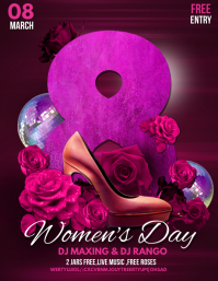 women' s day flyers,event flyers