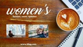 Women's Blog 博客标题 template