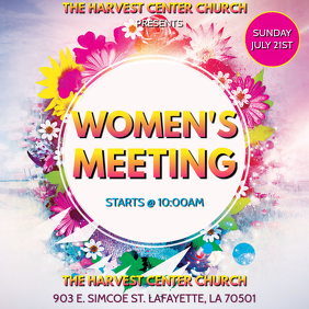 WOMEN'S CHURCH MEETING