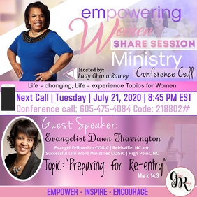 Women's Conference Call