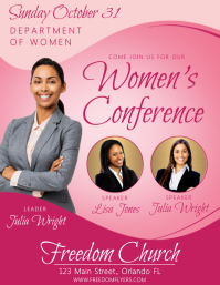 Women's Conference Church Event Flyer