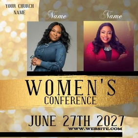 WOMEN'S CONFERENCE EVENT VIDEO TEMPLATE