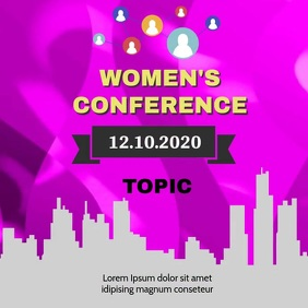 WOMEN'S CONFERENCE POST