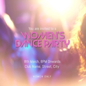 women's dance party