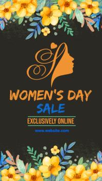 women's day, event, celebration Instagram 故事 template