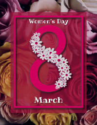 women's day, event, greeting, celebration