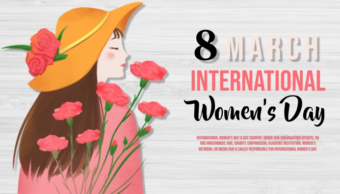 women's day, event, sale, party Header Blog template