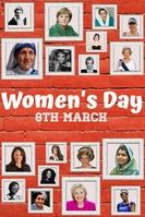 Women's Day, Women โปสเตอร์ template