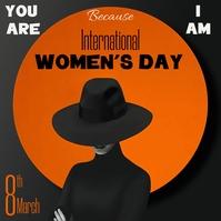 Women's Day, Women Instagram Post template