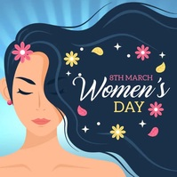 women's day,happy women's day,8th march Iphosti le-Instagram template