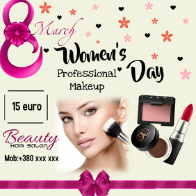 Women's Day (Make Up Offer)