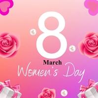 women's day Iphosti le-Instagram template