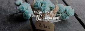 Women's day รูปภาพหน้าปก Facebook template