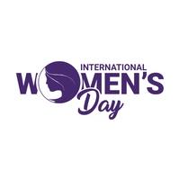 Women's Day Logo template
