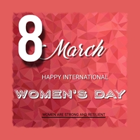 women's day Instagram Post template