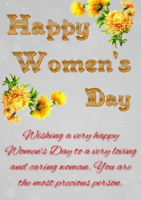 Women's Day A4 template