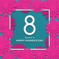 Women's Day Instagram-Beitrag template