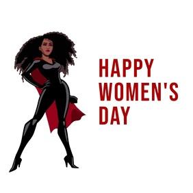 Women's day Instagram Plasing template