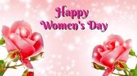 women's day Digitalanzeige (16:9) template