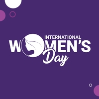 Women's Day Logo template