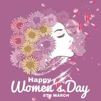 Women's Day Instagram Post template