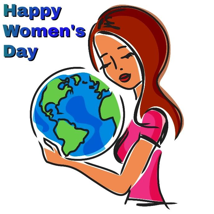 women's day Capa de álbum template