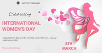 Women's day delt Facebook-billede template