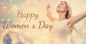 women's day Facebook begivenhed cover template