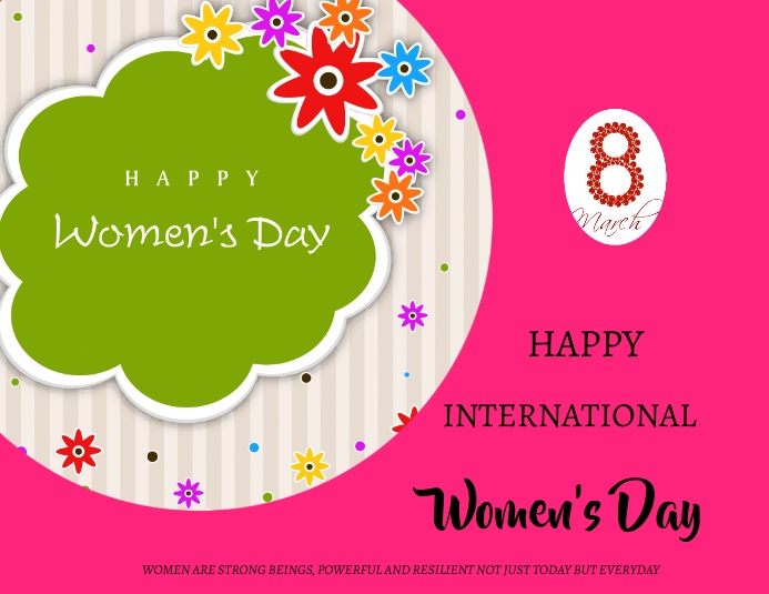 Women's Day Ulotka (US Letter) template