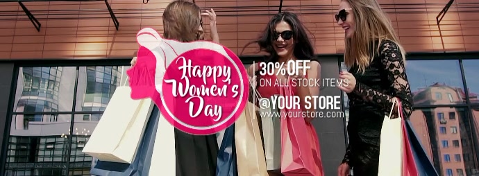 Women's day Facebook-coverfoto template