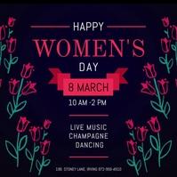 Women's day สี่เหลี่ยมจัตุรัส (1:1) template