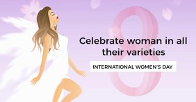 WOMEN'S DAY EVENT AD SOCIAL MEDIA TEMPLATE รูปภาพที่แบ่งปันบน Facebook