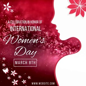 WOMEN'S DAY EVENT AD SOCIAL MEDIA TEMPLATE Logo