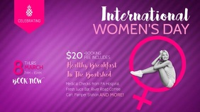 Women's Day Event Facebook Cover Video