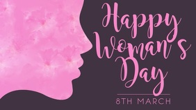 Women's Day Facebook Cover Template