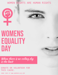 Women's Day Flyer, International Women's Day