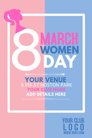 women's day flyer,event flyers